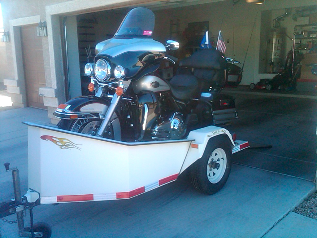 Chariot Motorcycle Trailer